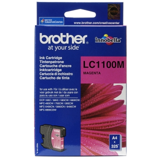 Brother encre m 325p LC1100M