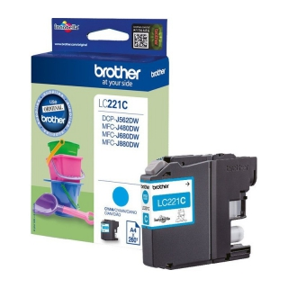Brother encre c 260p LC221C