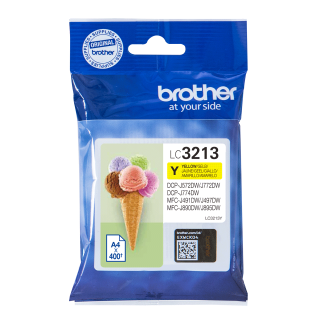 Brother encre j 400p LC3213Y