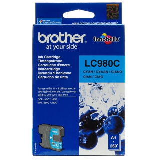 Brother encre c 300p LC980C