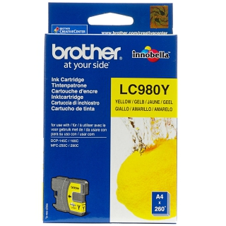 Brother encre j 260p LC980Y